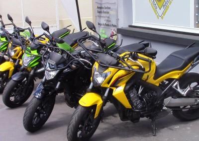Un parc moto neuf
